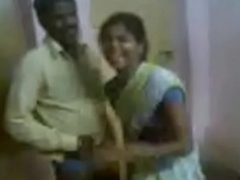 Indian Aunty Invited Their way Hubby Friend And Enjoying