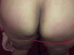 Indian desi housewife affianced gang banged and fucked with a cucumber in Ny