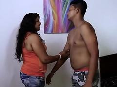 Hot desi Girl Heart of hearts Suck..Nipple sham