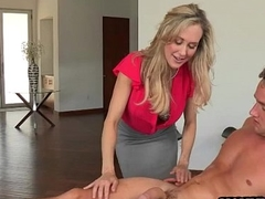Brandi Love and Taylor Whyte 3way action