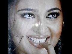 Cumshot down mummy actress anushka shetty