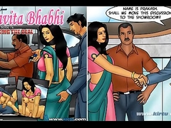 Savita Bhabhi Episode 76 - Closing rub-down the Deal