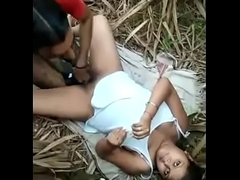 indian allure girl drilled in jungle