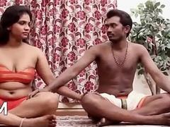 Indian Couple'_s Sensual Yoga Hot Copulation Motion picture [HD] - PORNMELA.COM
