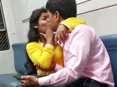 indian mumbai local train girl kissed her fixture