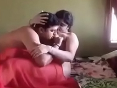 desi bhabhi fuck involving red crestfallen saree by teacher
